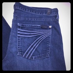 7 For All Mankind Dojo jeans size 32 long